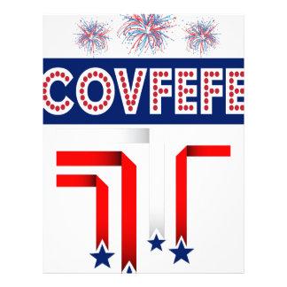 Covfefe Trump Joke for 4th of July Celebration Letterhead