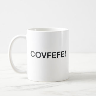 COVFEFE TRUMP TWEET MISSPELLING COFFEE MUG