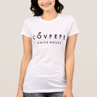 COVFEFE White House | Funny Women's Bella Cotton T-Shirt