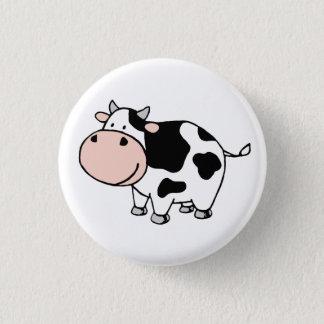 Cow 1 Inch Round Button