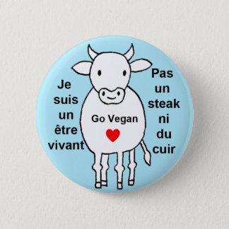 Cow 2 Inch Round Button