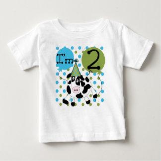 Cow 2nd Birthday Baby T-Shirt
