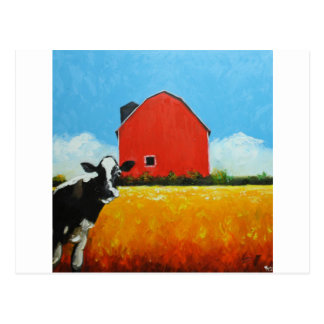 Cow#352 Postcard