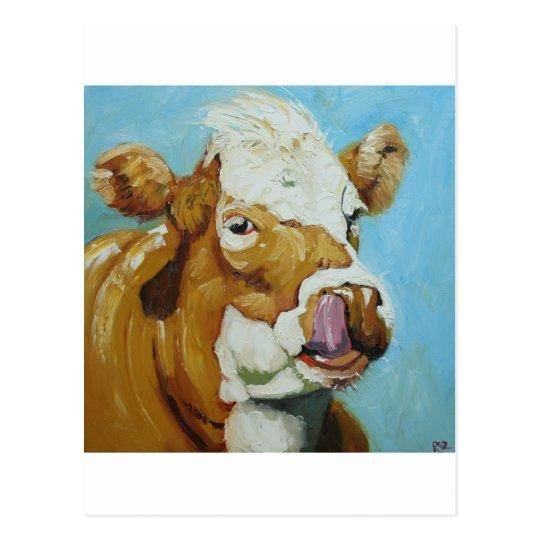 Cow#363 Postcard