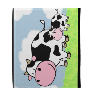 Cow and Baby iPad Case