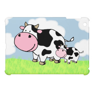 Cow and Baby Cover For The iPad Mini