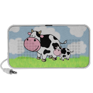 Cow and Baby Mp3 Speaker