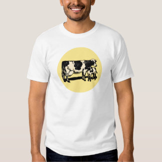 Cow and calve t-shirt