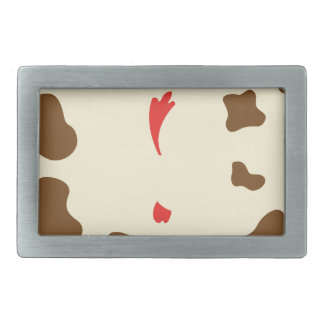 Cow and Chicken Belt Buckle