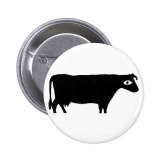 "Cow and Ivana ""Cow"" button"