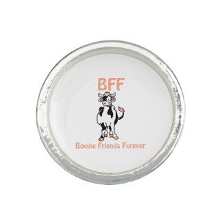 Cow BFF Photo Rings