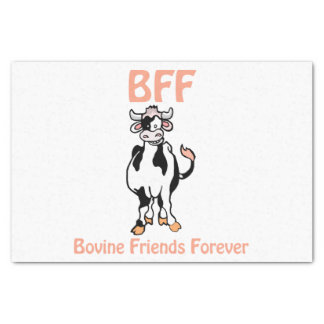 Cow BFF Tissue Paper