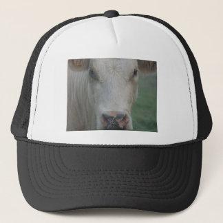 Cow Big Head Trucker Hat