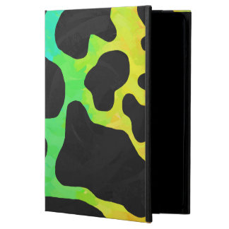 Cow Black and Rainbow Gifts Case For iPad Air