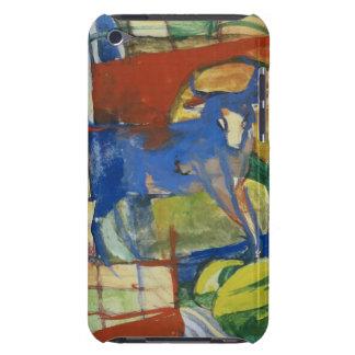 Cow bleue, 1914 (tempera sur le papier) coque iPod Case-Mate
