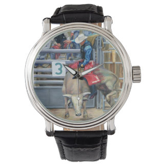 Cow Boy Ride Watch