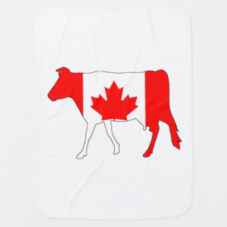 Cow Canada Swaddle Blanket