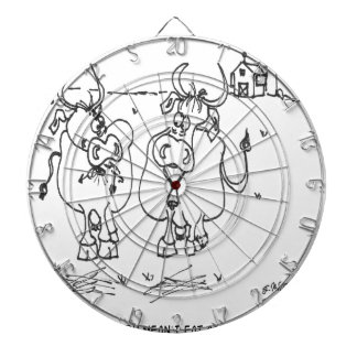 Cow Cartoon 3348 Dartboard