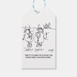 Cow Cartoon 3348 Pack Of Gift Tags