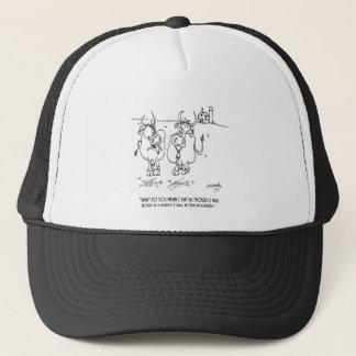Cow Cartoon 3348 Trucker Hat