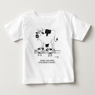 Cow Cartoon 3372 Baby T-Shirt