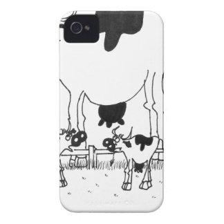Cow Cartoon 3372 iPhone 4 Case
