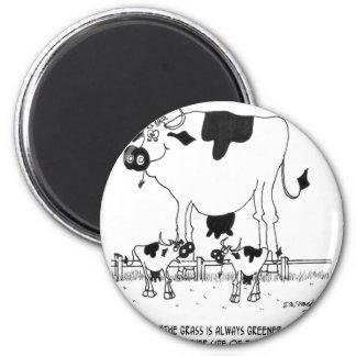Cow Cartoon 3372 Magnet