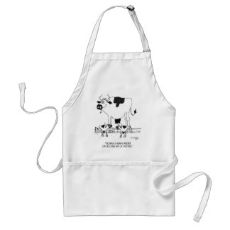 Cow Cartoon 3372 Standard Apron