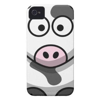 Cow Cartoon iPhone 4 Covers