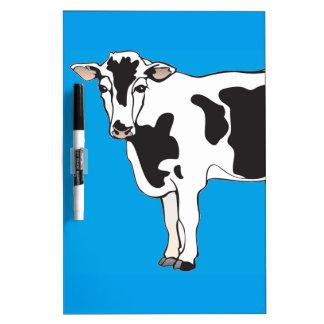 cow cartoon vectors--b Dry-Erase whiteboard