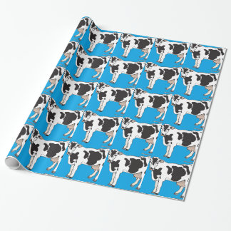 cow cartoon vectors--b wrapping paper