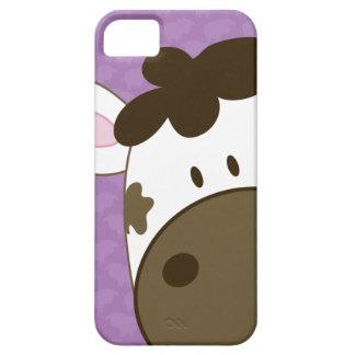 Cow Case-Mate iPhone 5 Case - Purple