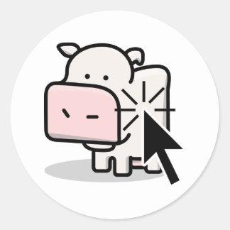 Cow Clicker Sticker