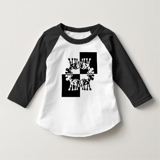 Cow Design in black and white T-Shirt