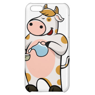cow drinking milk iPhone 5C covers