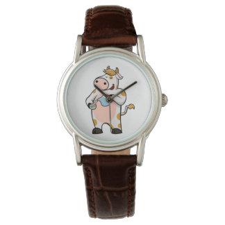 cow drinking milk watch