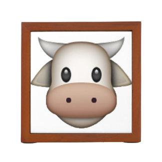 Cow - Emoji Desk Organizer