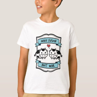 Cow Evolution Fusion Apparel T-Shirt