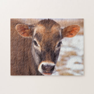 Cow Face Jigsaw Puzzle