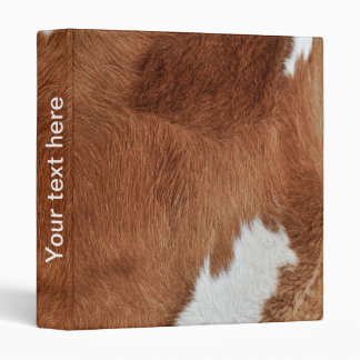 Cow Fur Binder