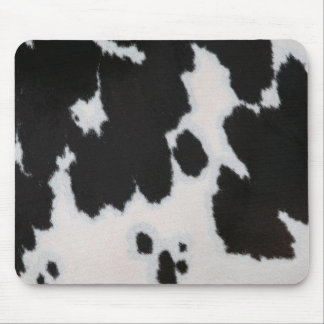 Cow fur Mousepad