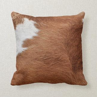Cow Fur Pillow