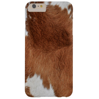 Cow Fur Print Barely There iPhone 6 Plus Case