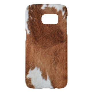 Cow Fur Print Samsung Galaxy S7 Case