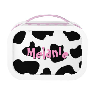 Cow hide pattern lunchbox | Custom cowgirl print