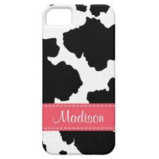 Cow Hide Spots iPhone 5 Case