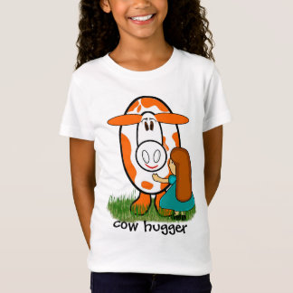 cow hugger - Customized T-Shirt