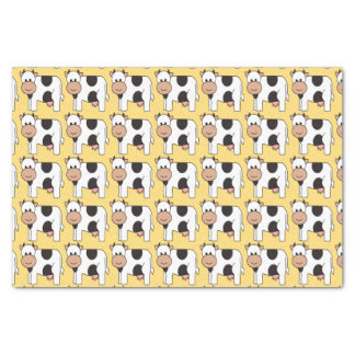 Cow Illustration tissue paper