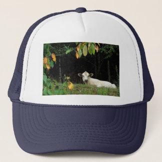 Cow in Pasture Trucker Hat