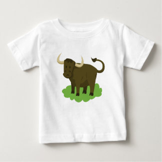cow in the grass baby T-Shirt